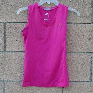 Adidas Tank Top Pink Climalite S Running